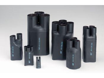 Aufteilkappen für kunststoff- und papierisolierte Kabel