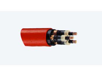 Endverschlüsse für 3-Leiter Kunststoffkabel, 3-Leiter 6/10 kV