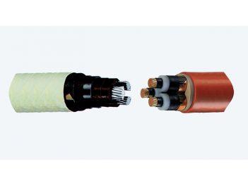 Übergangsmuffen von Gürtelkabel auf 3-Leiter Kunststoffkabel, 3-Leiter 6/10 kV