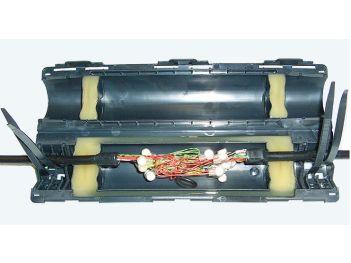 Gel-Verbindungs- und Abzweigmuffe für Fernmeldekabel GVAM 30