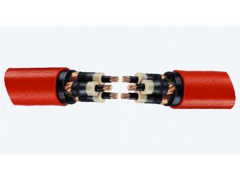 Verbindungsmuffen für Kunststoffkabel, 3-Leiter 6/10 kV